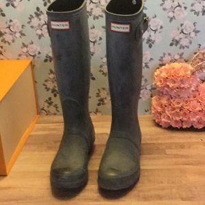 Hunter boots Sz 7